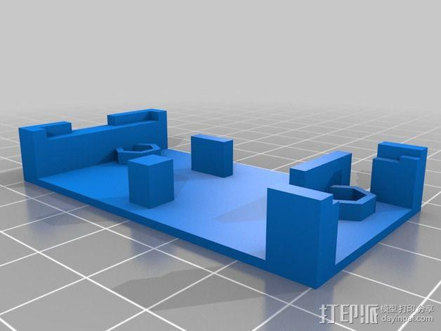 发射机支架 3D模型  图3