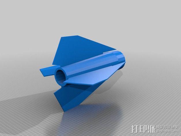 大功率火箭 3D模型  图3