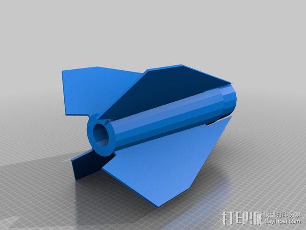 大功率火箭 3D模型  图5