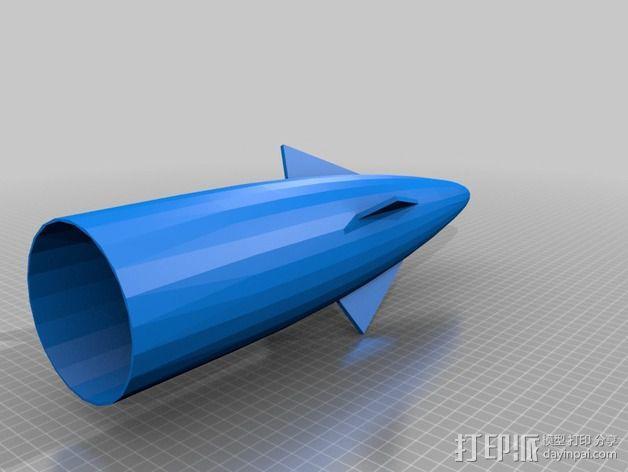 大功率火箭 3D模型  图4