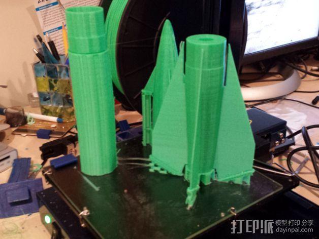 大功率火箭 3D模型  图9