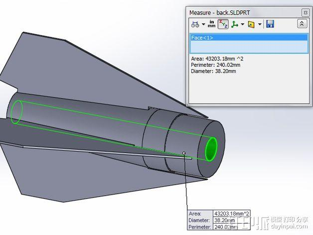 大功率火箭 3D模型  图11