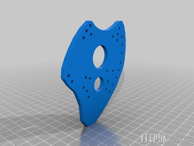 游泳 划浆 3D模型  图3