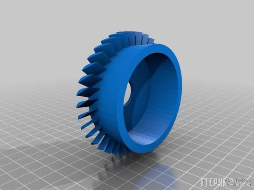 轴流压缩机 3D模型  图5