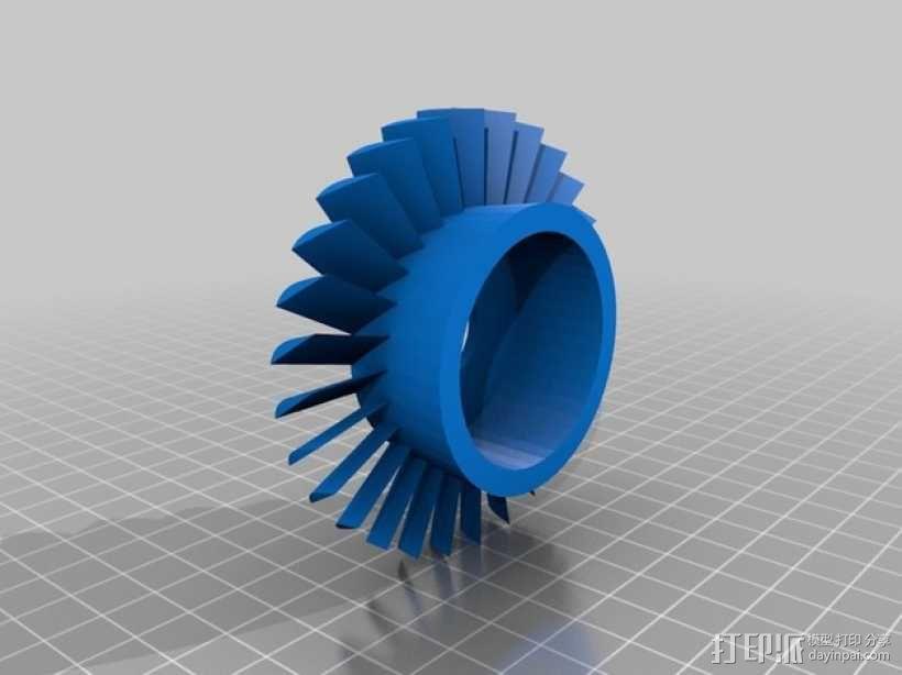 轴流压缩机 3D模型  图6