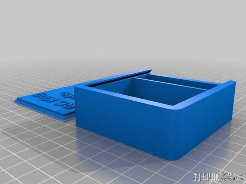 迷你四轴飞行器 小盒 3D模型  图1