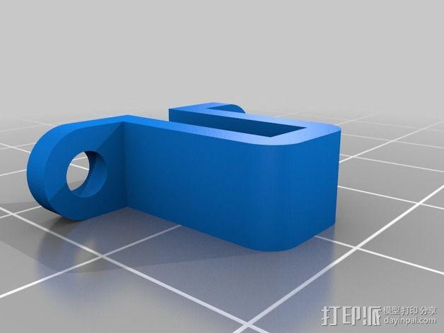 NeoPixel长板LED环 3D模型  图2