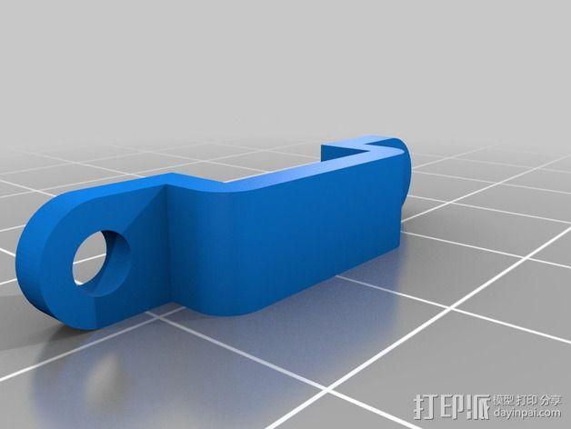 NeoPixel长板LED环 3D模型  图4