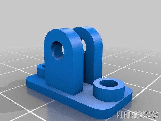 NeoPixel长板LED环 3D模型  图6