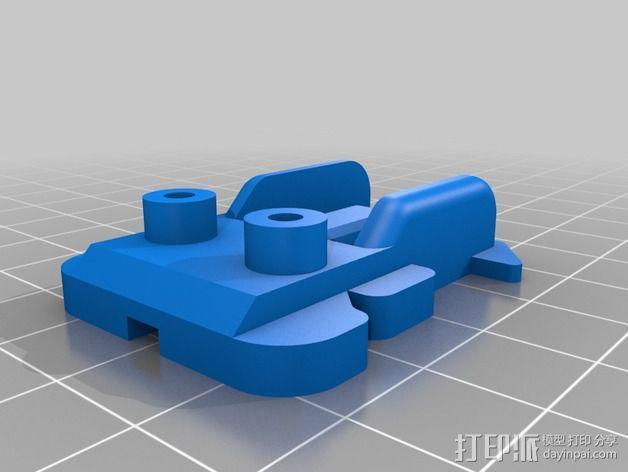 NeoPixel长板LED环 3D模型  图7