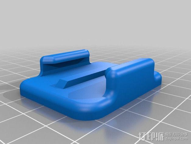 NeoPixel长板LED环 3D模型  图10
