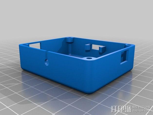 NeoPixel长板LED环 3D模型  图9