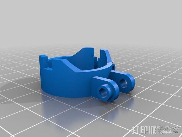 NeoPixel长板LED环 3D模型  图12