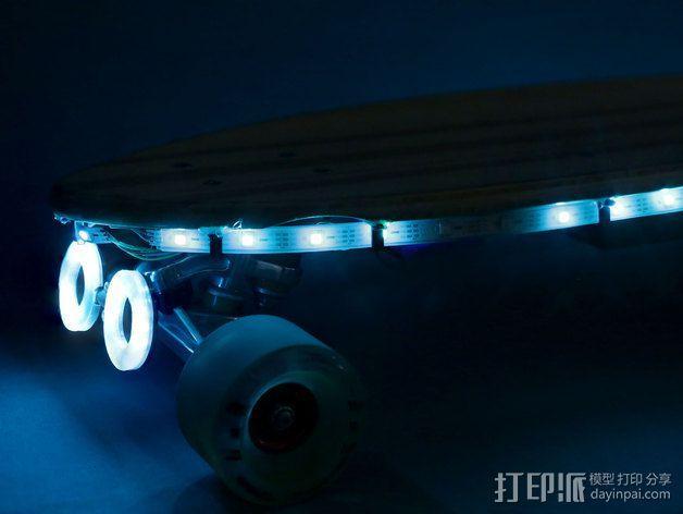NeoPixel长板LED环 3D模型  图13