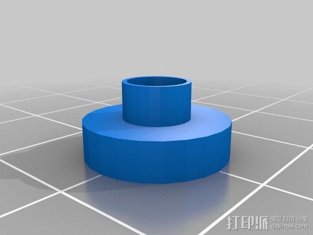 SMD零部件线轴分发器 3D模型  图2