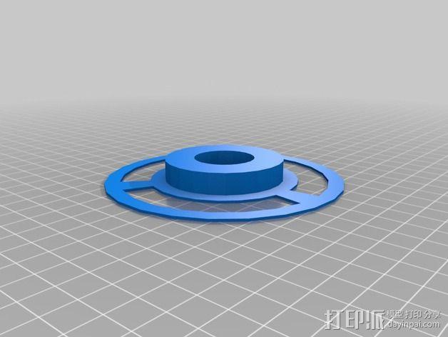 SMD零部件线轴分发器 3D模型  图3