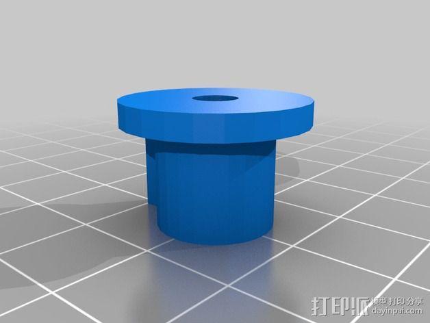 SMD零部件线轴分发器 3D模型  图7