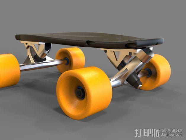 EPIC迷你长板 3D模型  图3