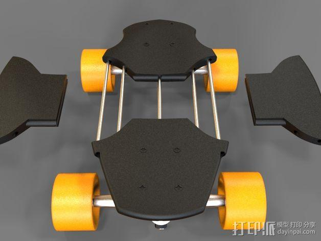 EPIC迷你长板 3D模型  图5