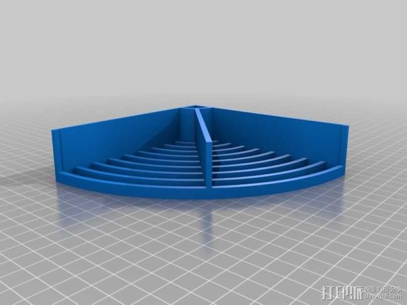 水桶 挡板 3D模型  图3