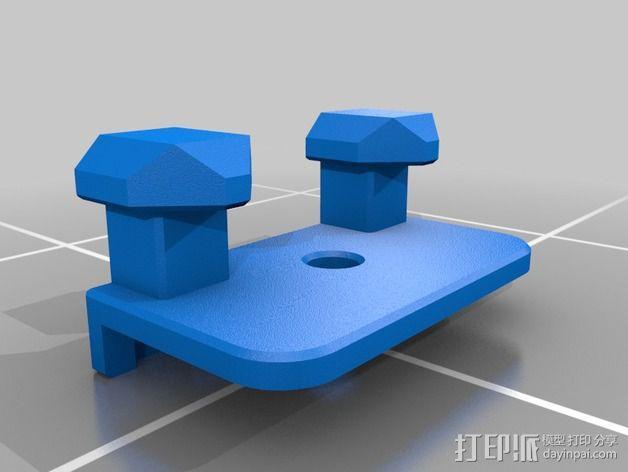 吉普牧马人JK 货物安装支架 3D模型  图9
