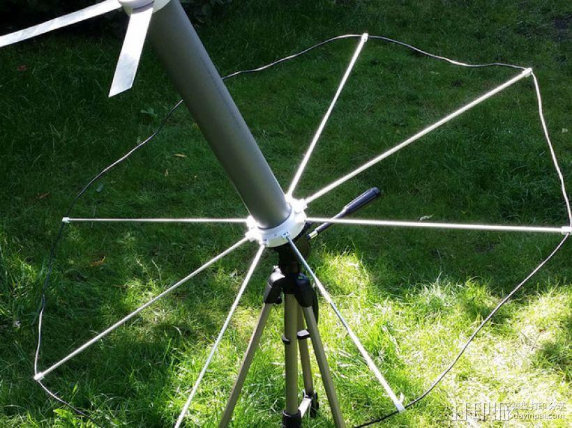 UHF卫星通讯天线 3D模型  图7
