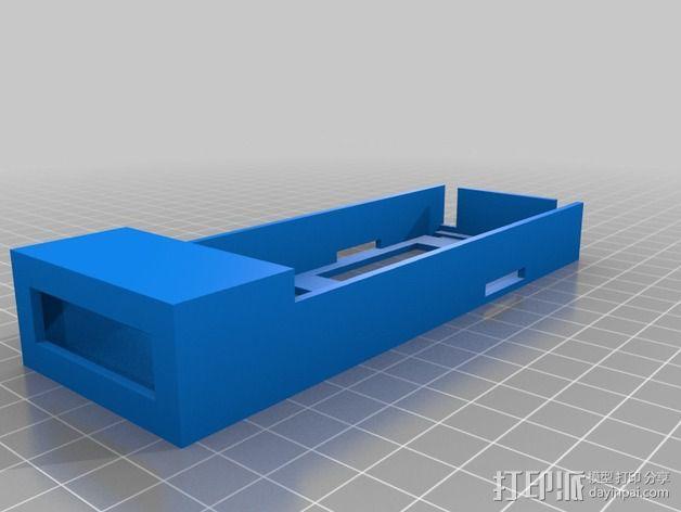 四轴飞行器 电池盒 3D模型  图5