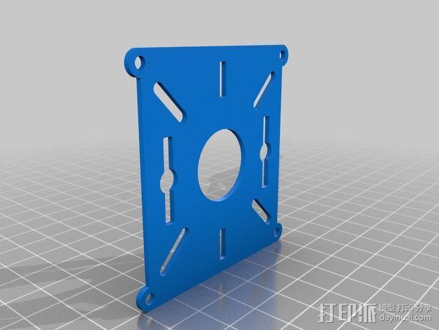 BlueDot四轴飞行器框架 3D模型  图3