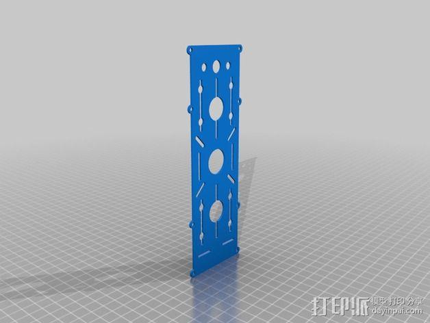 BlueDot四轴飞行器框架 3D模型  图5