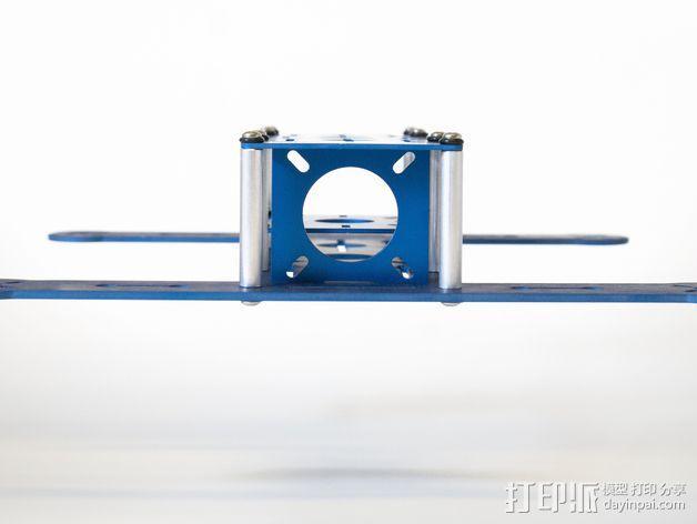 BlueDot四轴飞行器框架 3D模型  图6