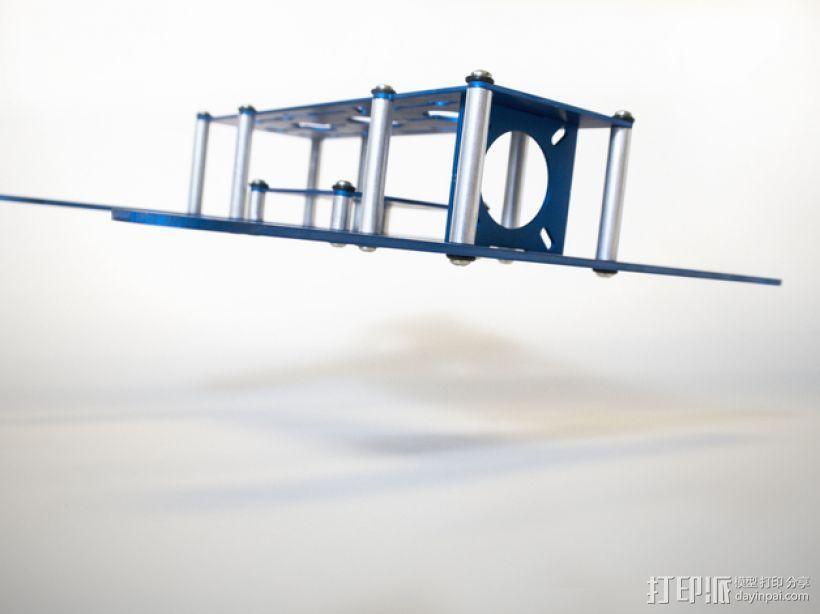 BlueDot四轴飞行器框架 3D模型  图8