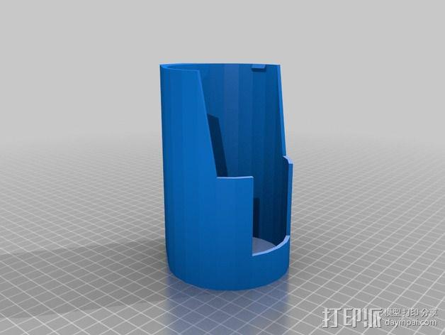 自行车 水瓶架 3D模型  图3