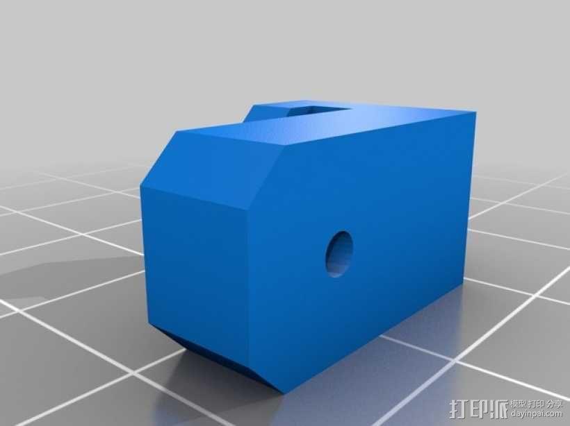 迷你四轴飞行器挂钩 3D模型  图2