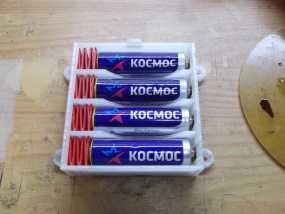 电池盒 3D模型