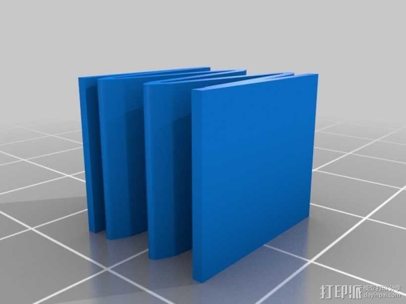 电池盒 3D模型  图4