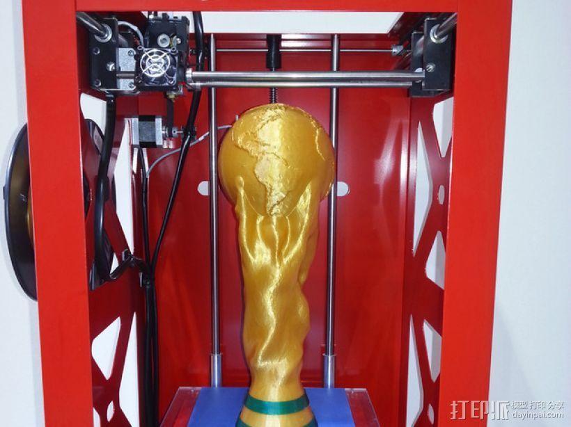 世界杯奖杯  3D模型  图1