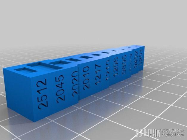 装器件PCB组装成型板 3D模型  图4