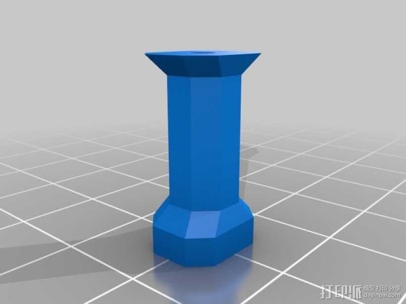 多轴飞行器 3D模型  图2