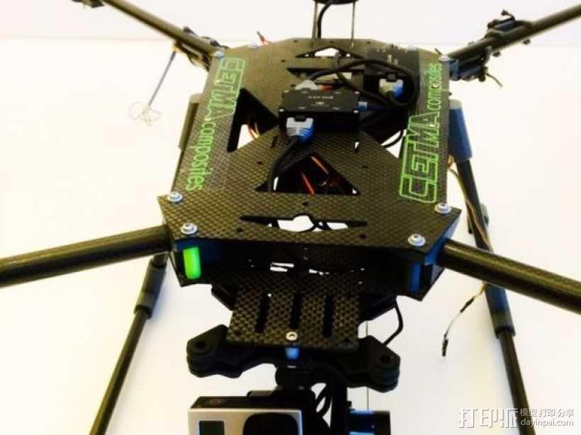 多轴飞行器 3D模型  图14