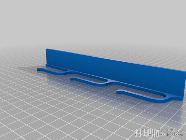 鼓槌 支架 3D模型  图7