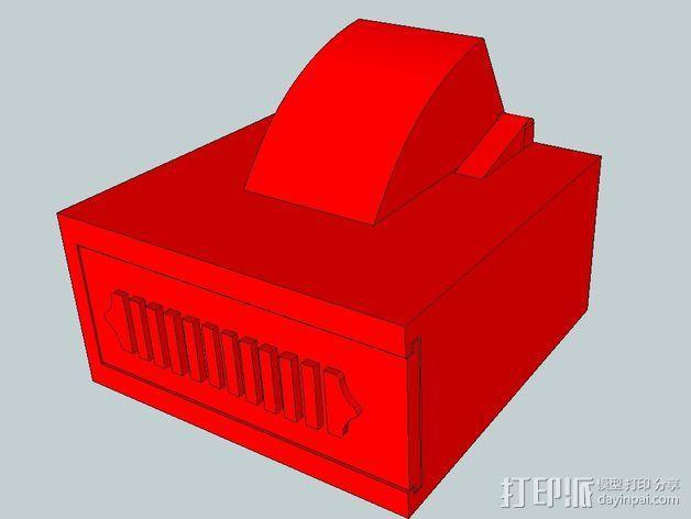 火箭点火器  3D模型  图4