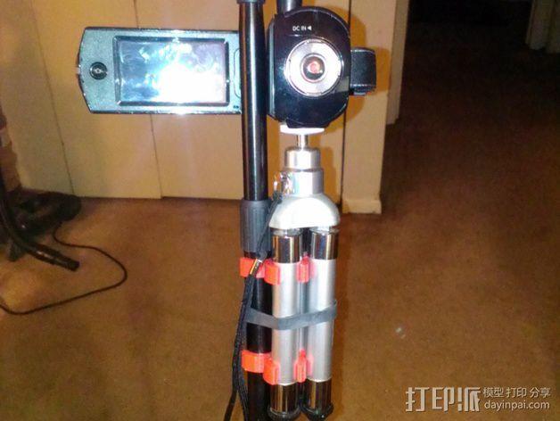 相机三脚架夹 3D模型  图5