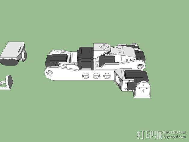 机械手臂 3D模型  图3