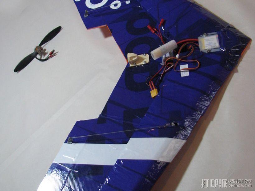 三角翼  3D模型  图1