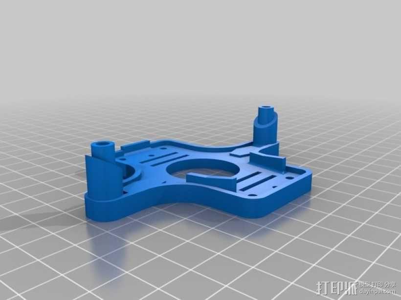 3DR IRIS 3轴常平架支架 3D模型  图2