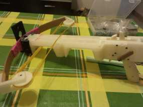 复合弩  3D模型