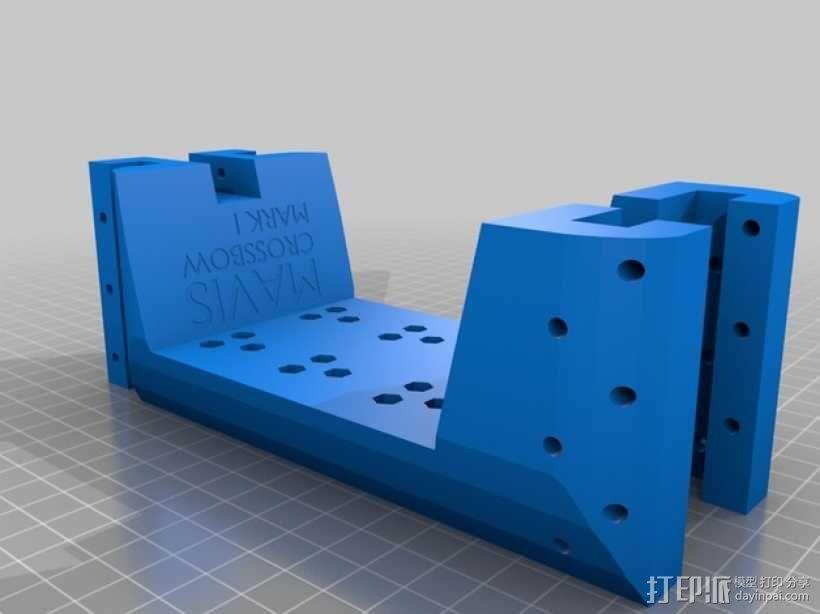 复合弩  3D模型  图6