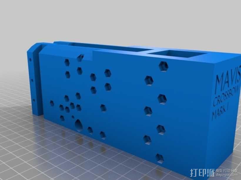 复合弩  3D模型  图9