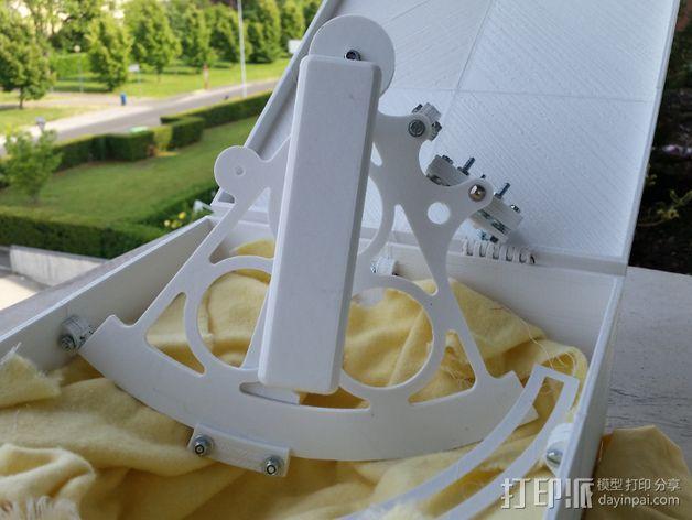 六分仪  3D模型  图6
