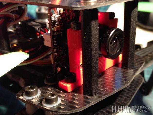 航拍飞行器相机架 3D模型  图1